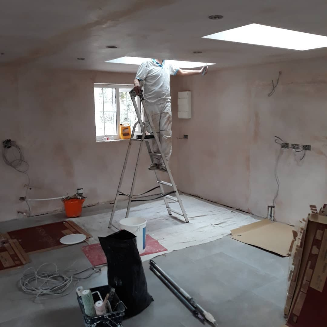 Interior Painter Near Me – a Kitchen I did a while back in Walsall…